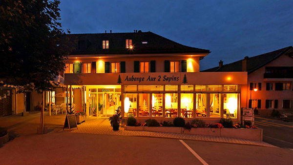 Hôtel Auberge Aux 2 Sapins Montricher
