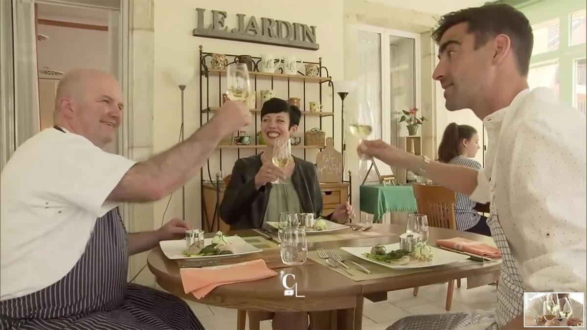 Couleur locales RTS Carine Rouge Label Fait Maison Auberge 2 Sapins
