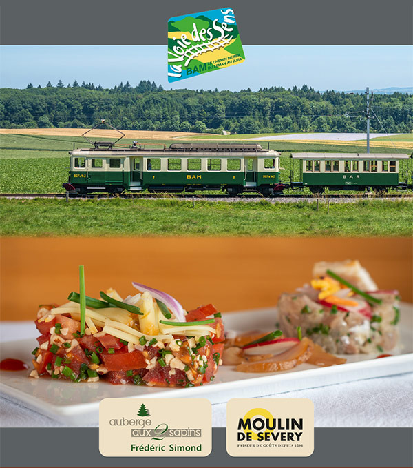 Train de saveurs Auberge 2 Sapins Montricher